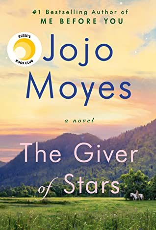 Cover art for the Giver of Stars by Jojo Moyes.